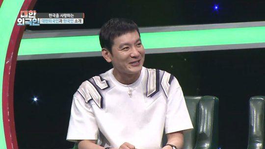 '대한외국인'의 개그맨 정성호./사진제공=MBC에브리원