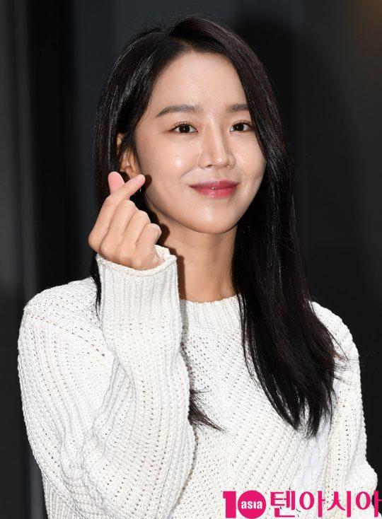 [TEN PHOTO]신혜선 '여신의 이쁜 하트'(단 하나의 사랑 종방연)