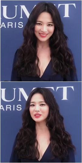 배우 송혜교./ 사진=엘르 홍콩 인스타그램 캡처