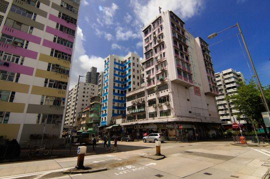 삼수이포의 건물들