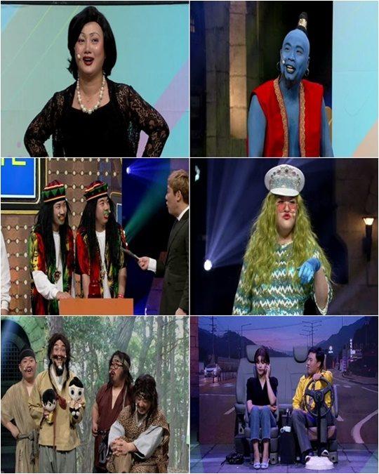 tvN 코미디쇼 '코미디빅리그'./ 사진제공=tvN