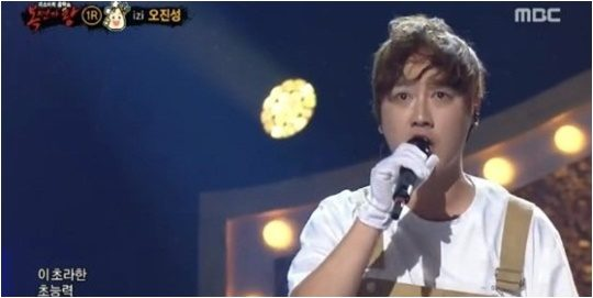 14일 방영된 MBC '복면가왕' 방송화면.