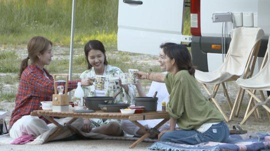 그룹 핑클. / 제공=JTBC '캠핑클럽'