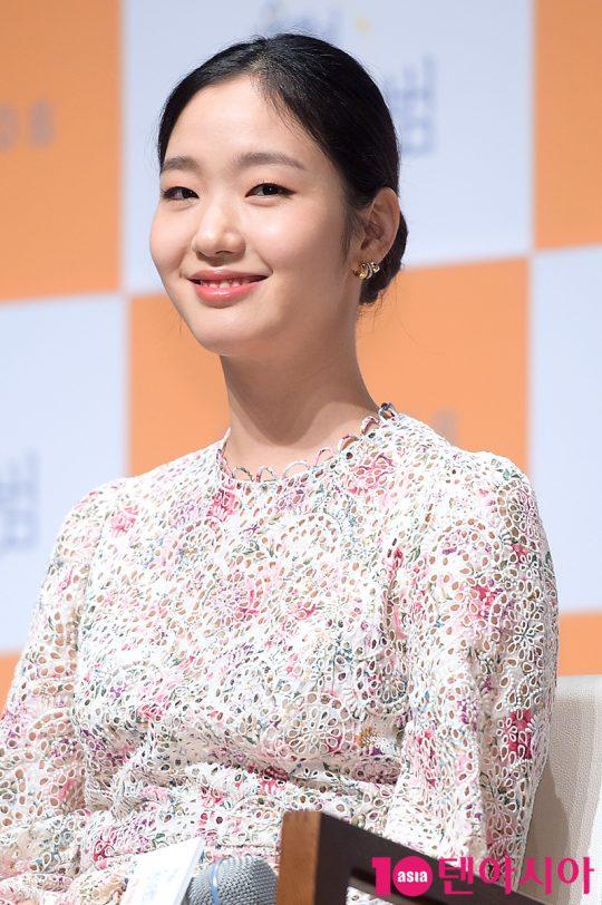 엄마가 남긴 제과점을 운영하는 미수 역의 배우 김고은. /서예진 기자 yejin@