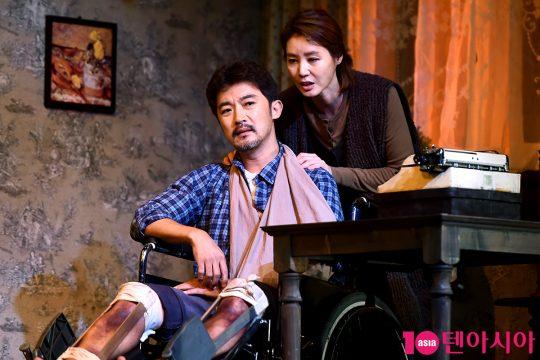 배우 안재욱(왼쪽), 김성령. / 서예진 기자 yejin@
