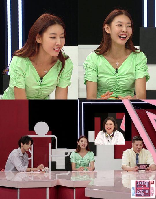'연애의 참견' 한혜진./ 사진제공=KBS Joy