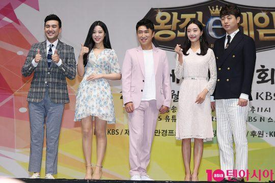 김선근(왼쪽부터), 조현, 장동민, 심지원, 유상무