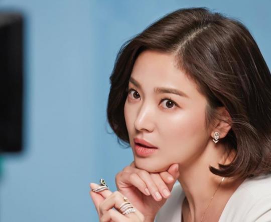 송혜교 SNS 갈무리