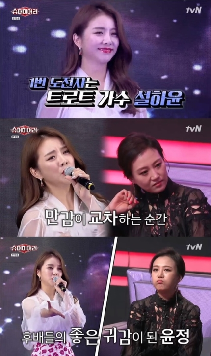 tvN '슈퍼히어러' 방송화면. /