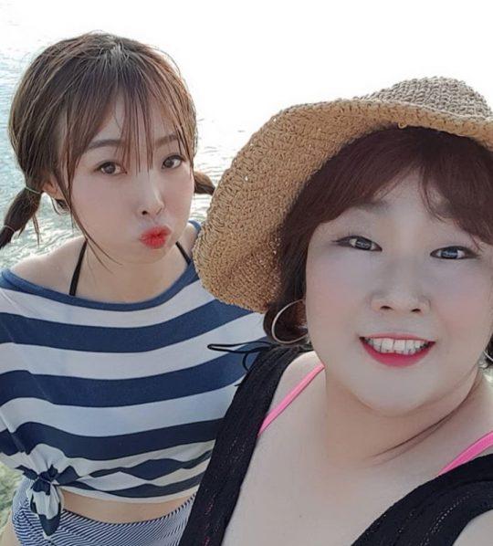 오나미-김민경./ 사진=인스타그램