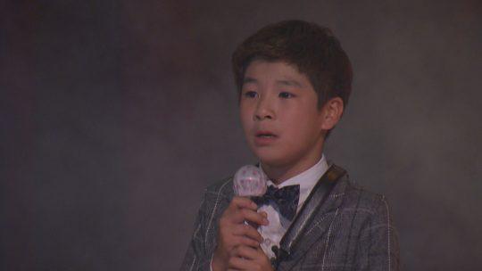 SBS '영재발굴단'에 출연한 트로트 신동 정동원 군./ 사진제공=SBS