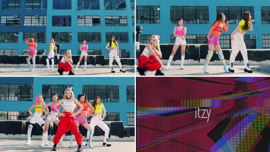 그룹 ITZY(있지)의 'ICY' 뮤직비디오 티저 / 사진제공=JYP엔터테인먼트