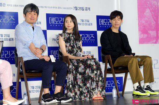 김종관 감독(왼쪽부터), 배우 안소희, 김무열