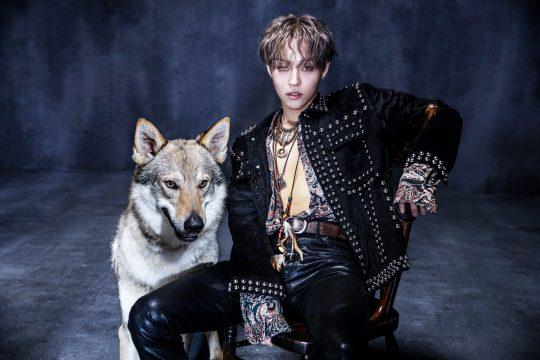 25일 첫 번째 솔로 음반 '울프(WOLF)'를 발표하는 밴드 더로즈의 김우성. / 제공=제이앤스타컴퍼니
