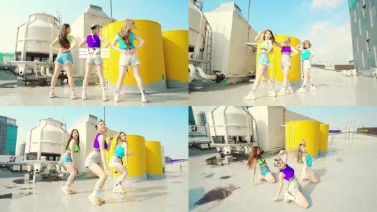 걸그룹 써드아이의 Manal 'Slay' 커버 영상. /사진제공=GH엔터테인먼트
