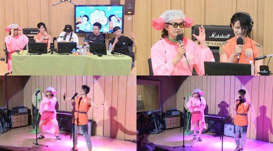 SBS 파워FM '두시탈출 컬투쇼' 방송화면. /사진제공=SBS 파워FM
