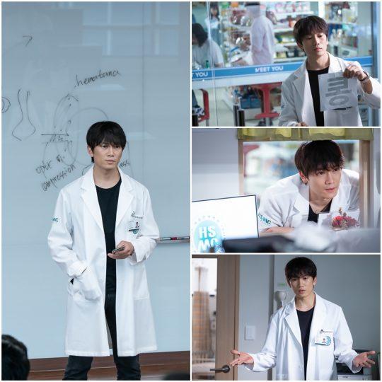'의사 요한' 지성. /사진제공=SBS '의사 요한'