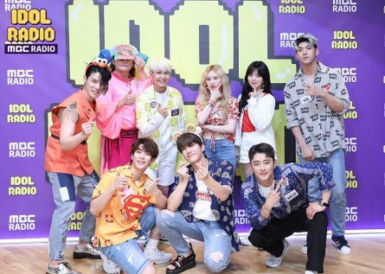 지난 25일 방송된 '아이돌 라디오' 출연진/사진=MBC 라디오 제공