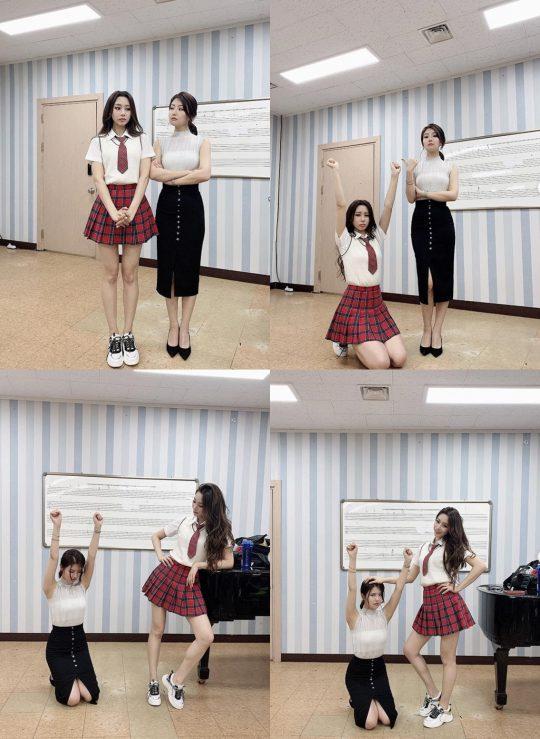 정유지-송다인./ 사진=인스타그램