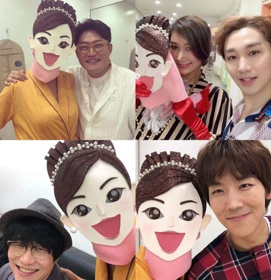 변정수 '복면가왕' 출연 인증./ 사진=인스타그램