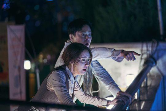 영화 '엑시트'의 한 장면. /사진제공=CJ엔터테인먼트