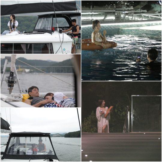'연애의 맛2' 이형철·신주리 커플. /사진제공=TV CHOSUN