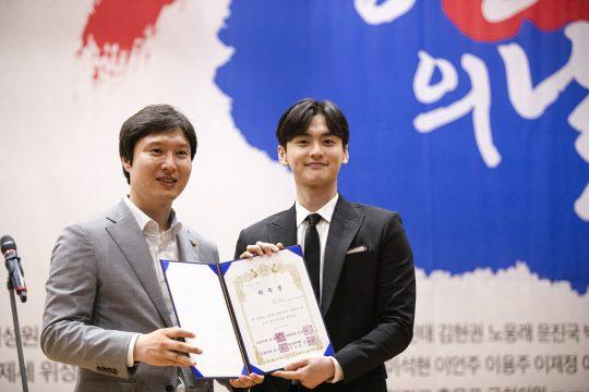 배우 김종훈(오른쪽). / 제공=하우엔터테인먼트