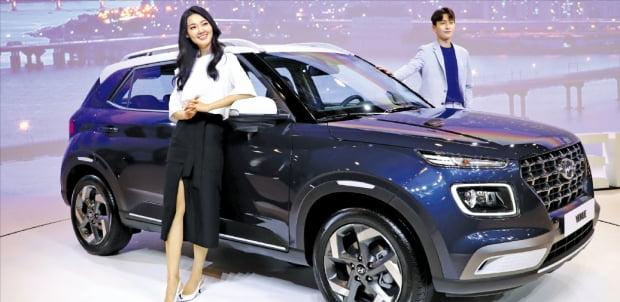 """현대차 'SUV 막내' 베뉴 등판…""""밀레니얼 세대 잡는다"""""""