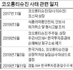 인보사 사태 '후폭풍'…檢, 상장 주관사 NH·한투證 압수수색
