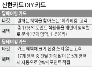 """임영진의 'DIY 카드' 승부수…""""고객 마음대로 적립·혜택 선택"""""""