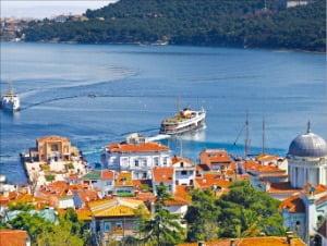 뷔위카다 섬 해안 풍경, 터키 문화광광부 제공