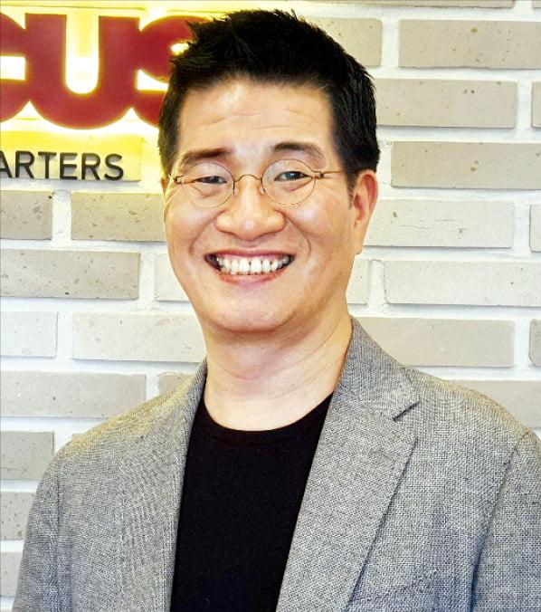 총제작비 250억원을 들인 애니메이션 '레드슈즈'를 선보이는 김형순 로커스 의장.
