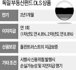 [마켓인사이트] 4660억 팔린 獨 부동산 DLS, 만기상환 지연…투자자 '불안'