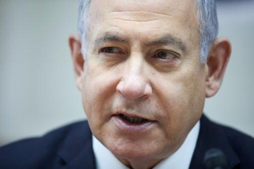 베냐민 네타냐후 이스라엘 총리. 사진 로이터통신