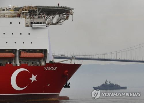 EU, 터키 東지중해 가스 시추 강행에 제재 움직임