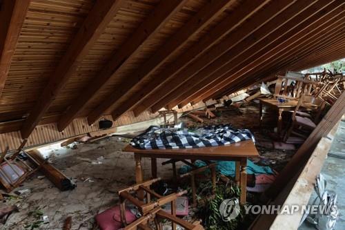 단 20분 폭풍우에 대규모 인명피해…그리스서 7명 사망(종합)