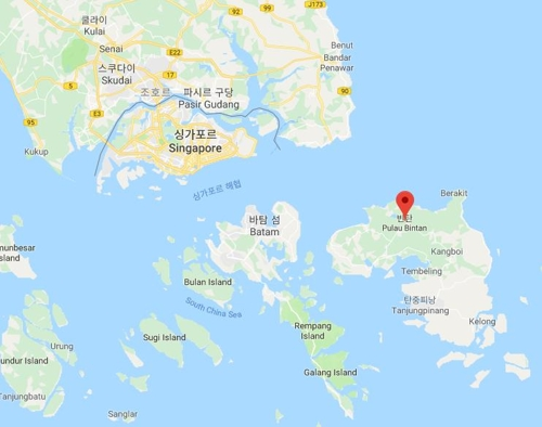 인도네시아, 싱가포르 인접 빈탄-바탐섬 연결 교량 건설