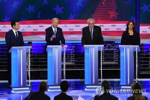 바이든·워런,   美민주당 대선후보 여론조사서 선두