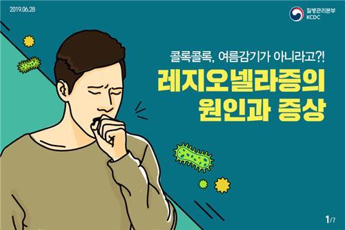 여름철 콜록콜록 마른기침…호흡기 감염병 '레지오넬라증' 의심