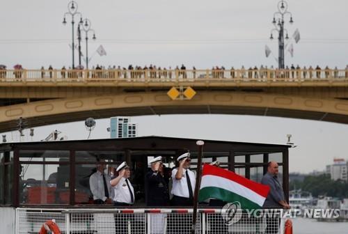 헝가리 침몰유람선 선장 등 장례식…한국 희생자 추모의식도(종합)