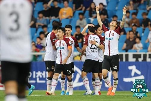 '제주전 충격패' 서울, 고광민·박주영 연속골로 인천 2-0 제압