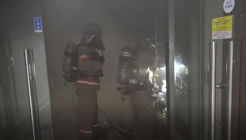 한국과학기술연구원 연구실 화재…부상자 없이 비품 소실