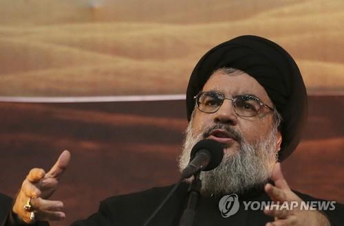 """헤즈볼라 지도자 """"미·이란 전쟁시 이스라엘 없어질 수도""""(종합)"""