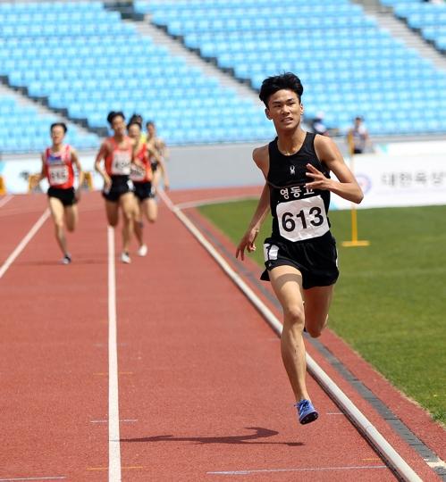 이재웅, 28년 만에 육상 1,500m 한국 고교 신기록…3분44초18