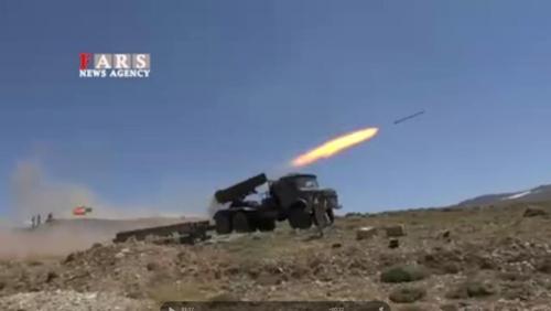 이란, '美 보란 듯' 최신무기 동원 쿠르드계 반군 소탕