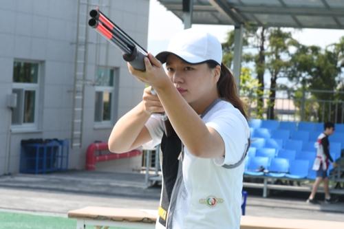 사격 김민지, 경호처장기 스키트 대회 신기록