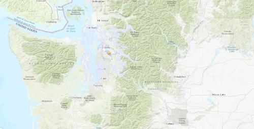 美 시애틀 인근서 규모 4.6 지진…밴쿠버까지 `흔들`