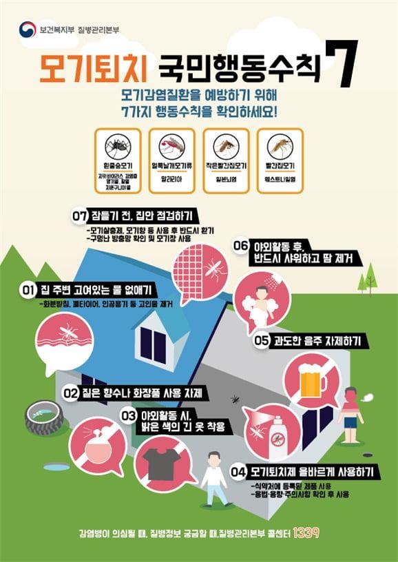 '전국일본뇌염' 경보…만 12세 이하 예방접종 권고