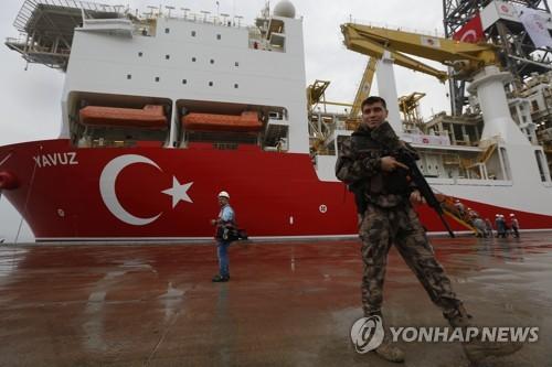 터키 東지중해 탐사시추선 추가 투입…키프로스·EU 반발