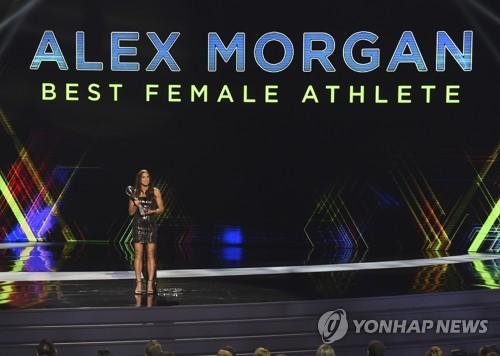 ESPY 올해의 스포츠대상에 NBA 안테토쿤보·여자축구 모건